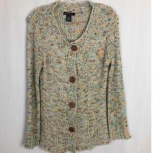 BCBG MaxAzria Women's Cardigan Sweater - Size XL